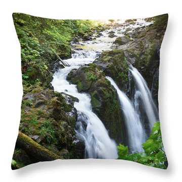 Sol Duc Solitude Throw Pillow