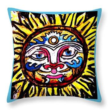 Sol Horizon Band Throw Pillow