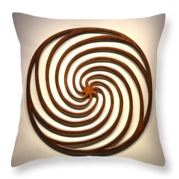 Sol In Motion Throw Pillow