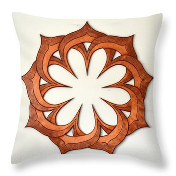 Sol Nine Throw Pillow