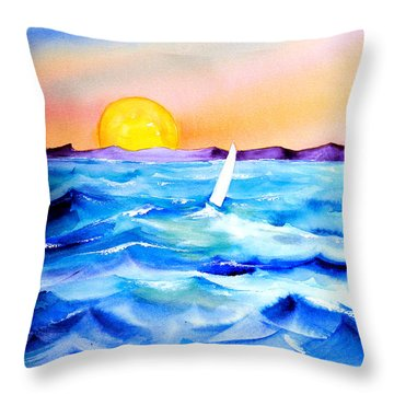 Sol Searching Throw Pillow
