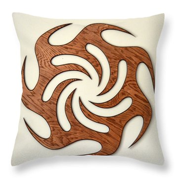 Sol Seven, Fire And Water Throw Pillow