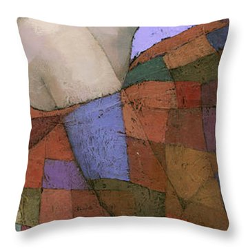 Solace Detail Throw Pillow