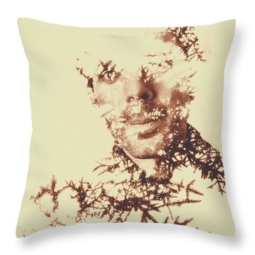 Solace Of Spirit Within Throw Pillow