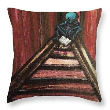 Solamente Alien Throw Pillow