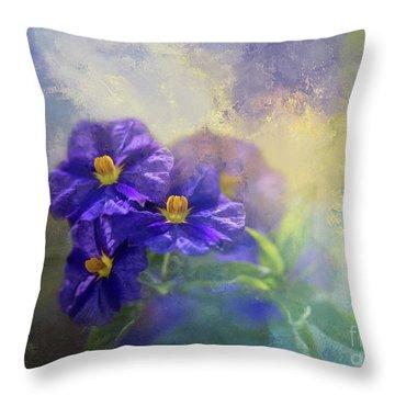Solanum Throw Pillow