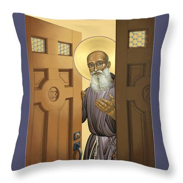 Bl. Solanus Casey - Lwvsc Throw Pillow