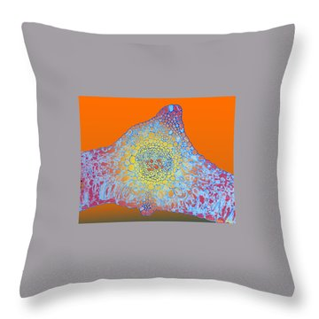 Solar Cells Throw Pillow