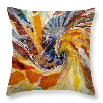 Solar Chakra Meditation Throw Pillow