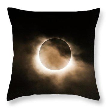 Solar Eclipse II Throw Pillow