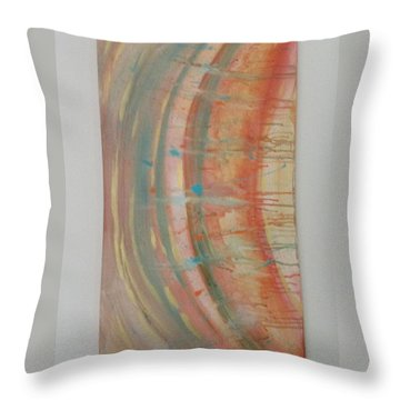 Solar Flare #2 Throw Pillow