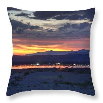 Solar Power 24/7 Throw Pillow