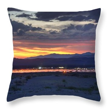 Solar Power 24/7 Throw Pillow