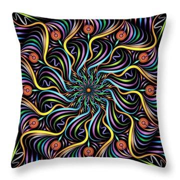 Solarium Throw Pillow