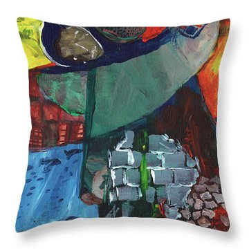 Soldier Family Sacrifice Throw Pillow