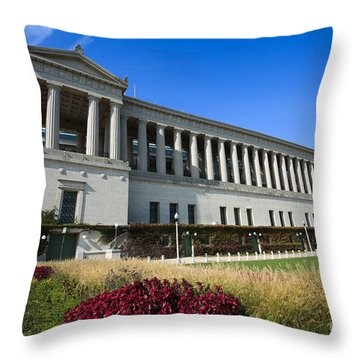 Soldier Field Chicago Bears Stadium Throw Pillow