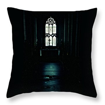 Solemnity Throw Pillow
