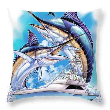 Solera Open Throw Pillow