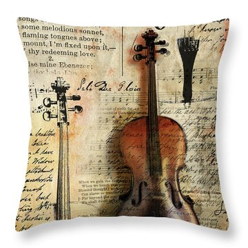 Soli Deo Gloria Throw Pillow