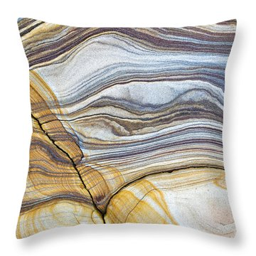 Solid Motion Throw Pillow