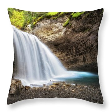 Solitary Moment Throw Pillow by Nicki Frates