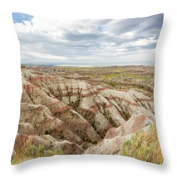 Solitary Road Throw Pillow