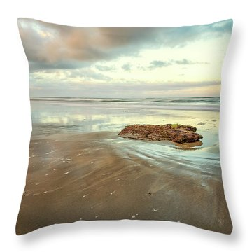 Solitary Rock Throw Pillow