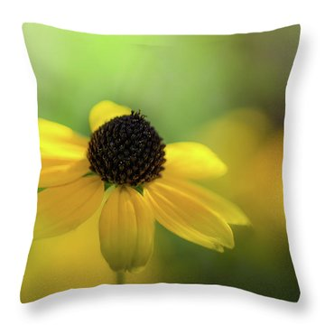 Solitary Suzy Throw Pillow