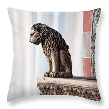 Solitary Watch Throw Pillow by Christopher Holmes