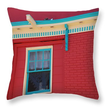 Throw Pillow featuring the photograph Solitary Window by Richard Bryce and Family
