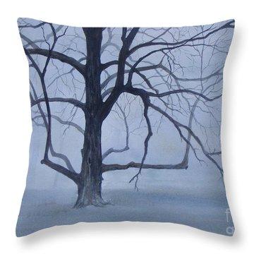 Solitude  Sold Throw Pillow
