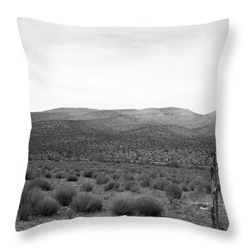 Throw Pillow featuring the photograph Solitude by Eric Christopher Jackson