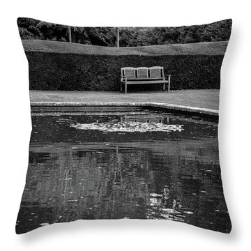 Solitude Throw Pillow