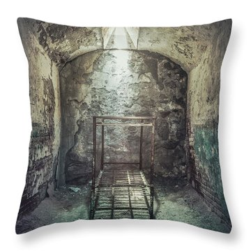 Solitude Of Confinement Throw Pillow