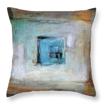 Solo Throw Pillow by Behzad Sohrabi