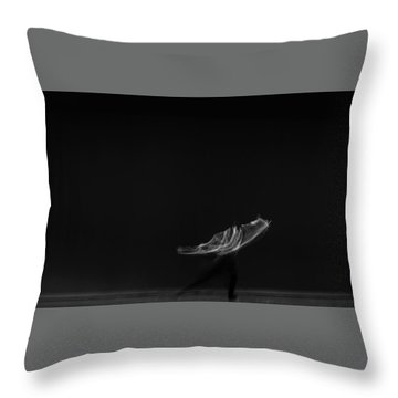 Solo Dancer  Throw Pillow by Catherine Lau