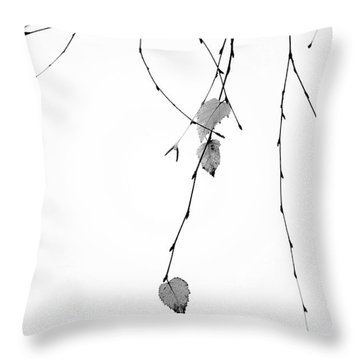 Throw Pillow featuring the photograph Solo by Rebecca Cozart