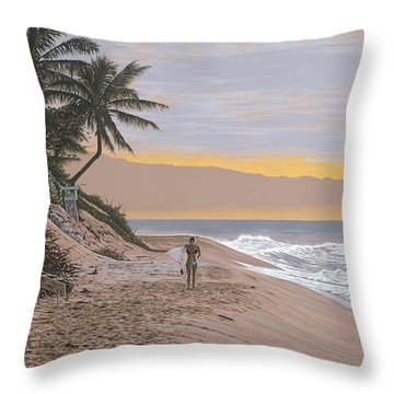Solo Session Throw Pillow