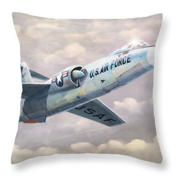 Solo Starfighter Throw Pillow
