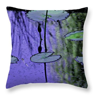 Soloist Throw Pillow by Kat Besthorn