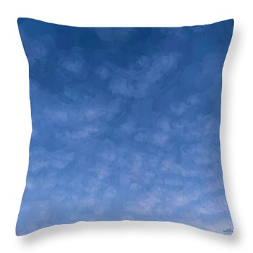 Solstice Dawn Throw Pillow