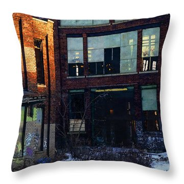Solvay Coke Throw Pillow