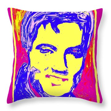 Soma Elvis Throw Pillow
