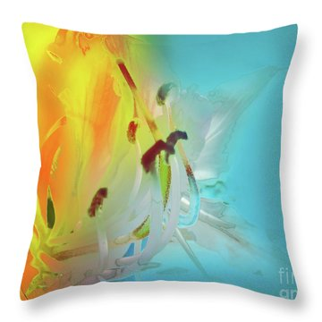 Sombras De Luz Throw Pillow