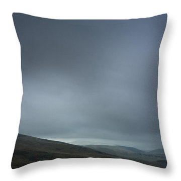 Sombre Coquetdale Throw Pillow