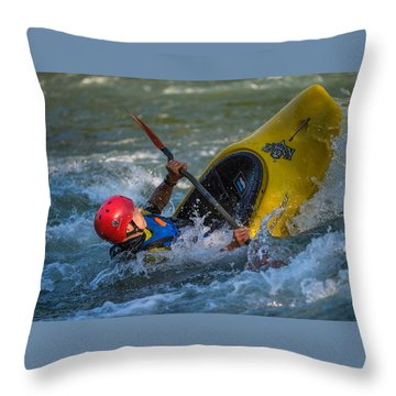 Some Action Throw Pillow