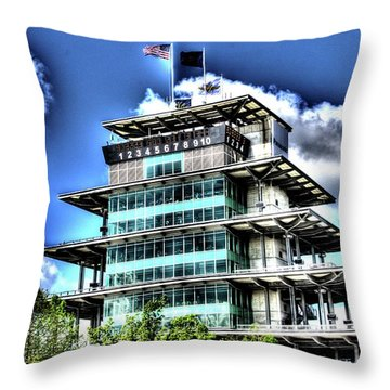 Some Cloudy Day Throw Pillow