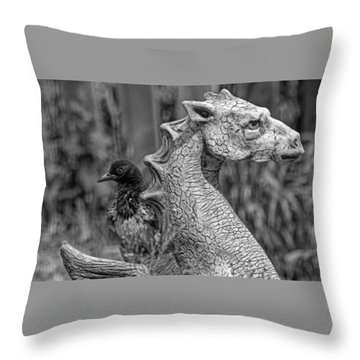 Some Day I... Throw Pillow by Alana Thrower