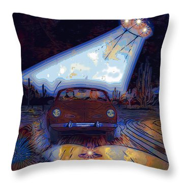 Some Enchanted Evening-retro Romance Throw Pillow