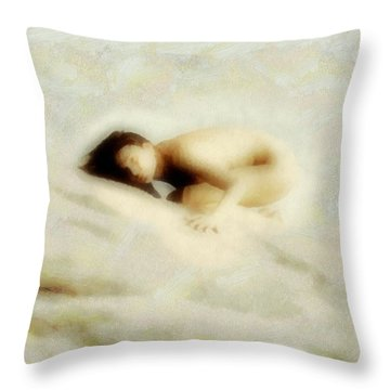 Throw Pillow featuring the digital art Some Mountains Are Hard To Climb by Gun Legler